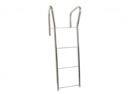 Original 4-step bathing ladder for your yacht from BAVARIA. The two handles make getting on board easier. The total length is 965 mm.