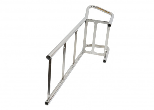 Original 4-step bathing ladder for your yacht from BAVARIA. The two handles make getting on board easier. The total length is 965 mm.   (Image 2 of 2)