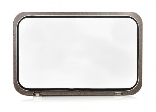 BAVARIA Abdeckung Kühlbox HPL-Kompakt, schwarz Dekor braun. (Bild 3 von 5)
