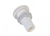 Passe-coque PVC 1 1/2