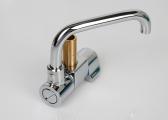 Faucet, chrome