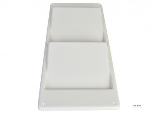 Original BAVARIA Motorpanel ohne Bohrung in der Farbe weiß.  (Bild 2 von 2)
