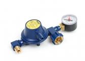 Gasdruckregler mit Manometer / 30 mbar