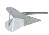 Delta-Anker, verzinkt / 10 kg