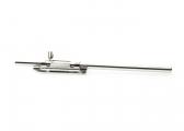 Deadbolt for hinged doors