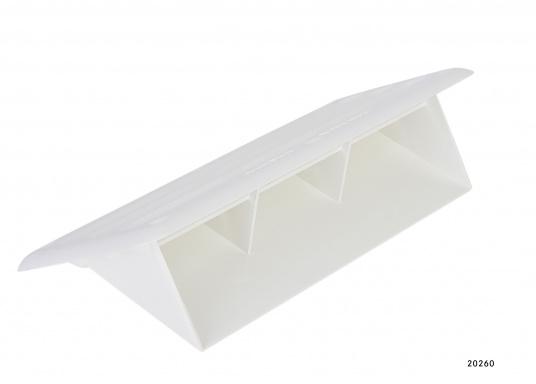 Für Ihre BAVARIA Yacht finden Sie hier das passende Lüftungsgitter. Abmessungen: 200 x 100 x 55 mm. Farbe: weiß.  (Bild 3 von 3)