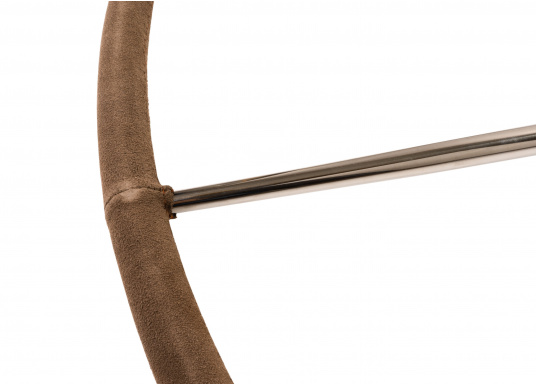 """BAVARIAEdelstahlsteuerrad, lederummantelt mit einem Durchmesser von 1016 mm ( 40"""") (Bild 3 von 4)"""