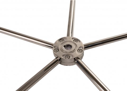 """BAVARIAEdelstahlsteuerrad, lederummantelt mit einem Durchmesser von 1016 mm ( 40"""") (Bild 2 von 4)"""