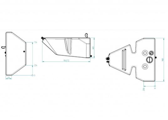 BAVARIAKS-Frischwassertank W 150 B (Bild 3 von 3)