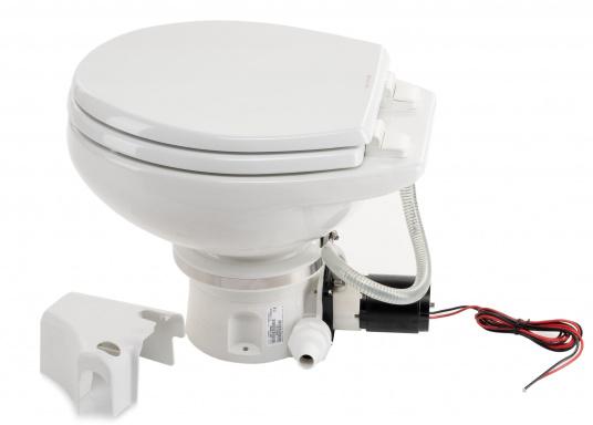 Passend für Ihre Yacht von BAVARIA bieten wir Ihnen hier die elektrische Toilette MASTERFLUSH inkl. Zerhackerfunktionvon Dometic an.  (Bild 3 von 5)