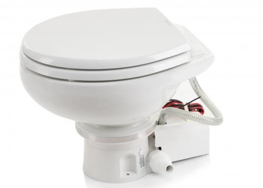 Passend für Ihre Yacht von BAVARIA bieten wir Ihnen hier die elektrische Toilette MASTERFLUSH inkl. Zerhackerfunktionvon Dometic an.  (Bild 5 von 5)