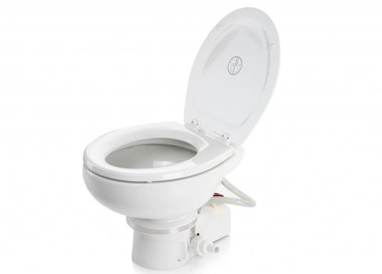 Passend für Ihre Yacht von BAVARIA bieten wir Ihnen hier die elektrische Toilette MASTERFLUSH inkl. Zerhackerfunktionvon Dometic an.  (Bild 2 von 5)