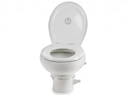 Passend für Ihre Yacht von BAVARIA bieten wir Ihnen hier die elektrische Toilette MASTERFLUSH inkl. Zerhackerfunktionvon Dometic an.  (Bild 4 von 5)