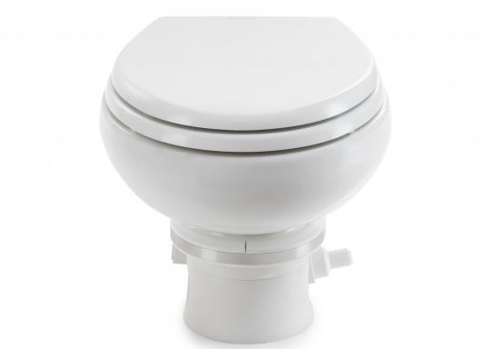 Passend für Ihre Yacht von BAVARIA bieten wir Ihnen hier die elektrische Toilette MASTERFLUSH inkl. Zerhackerfunktionvon Dometic an.