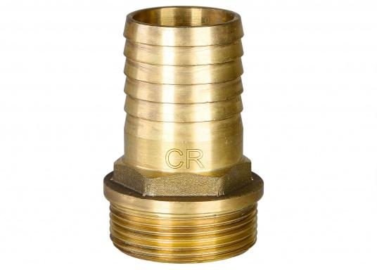 Original hose nozzle made of CR brass with an external thread for your BAVARIA yacht. Available in different sizes.