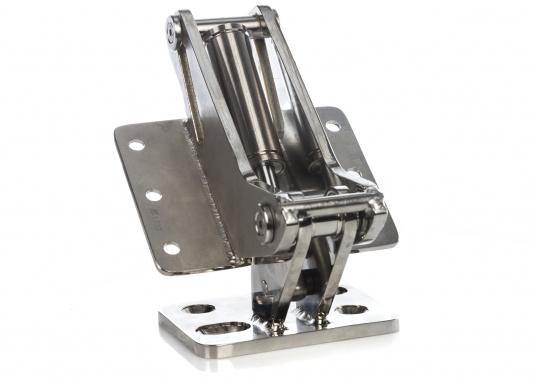 Originales Scharnier für die Badeplattform auf Ihrer BAVARIA Cruiser 46. Das Scharnier hat eine integrierte Gasdruckfeder mit einer Kraft von 2500 N. (Bild 3 von 5)
