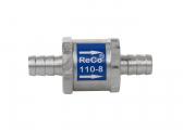 Valve anti-retour pour tuyaux de carburant / 8 mm