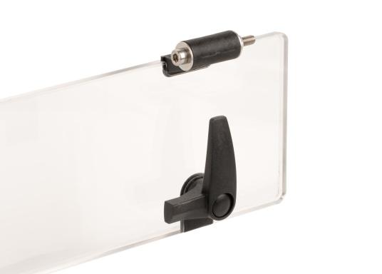 BAVARIAErsatzscheibe Flush Portlight opening Deck-Klarglas (Bild 2 von 3)