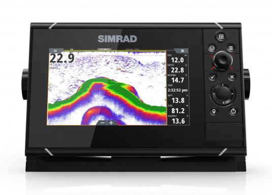 Navigieren, Kontrolle übernehmen und die enorme Funktionsvielfalt optimal ausnutzen – mit NSS evo3. Die SolarMAX™ HD-Anzeigetechnologie bietet ein außergewöhnlich klares Bild und extrem weite Sichtwinkel. Dank allwettertauglichem Touchscreen und erweitertem Tastenfeld behalten Sie unter allen Bedingungen die volle Kontrolle. Lieferung inklusive 4G Breitband Radar. (Bild 8 von 17)