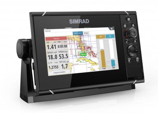 Navigieren, Kontrolle übernehmen und die enorme Funktionsvielfalt optimal ausnutzen – mit NSS evo3. Die SolarMAX™ HD-Anzeigetechnologie bietet ein außergewöhnlich klares Bild und extrem weite Sichtwinkel. Dank allwettertauglichem Touchscreen und erweitertem Tastenfeld behalten Sie unter allen Bedingungen die volle Kontrolle. Lieferung inklusive 4G Breitband Radar. (Bild 6 von 17)