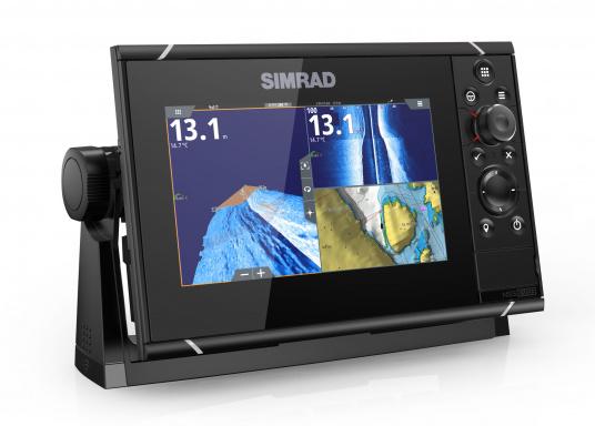 Navigieren, Kontrolle übernehmen und die enorme Funktionsvielfalt optimal ausnutzen – mit NSS evo3. Die SolarMAX™ HD-Anzeigetechnologie bietet ein außergewöhnlich klares Bild und extrem weite Sichtwinkel. Dank allwettertauglichem Touchscreen und erweitertem Tastenfeld behalten Sie unter allen Bedingungen die volle Kontrolle. Lieferung inklusive 4G Breitband Radar. (Bild 2 von 17)