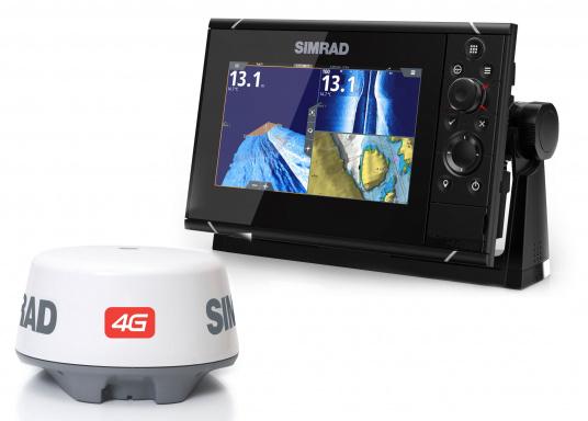 Navigieren, Kontrolle übernehmen und die enorme Funktionsvielfalt optimal ausnutzen – mit NSS evo3. Die SolarMAX™ HD-Anzeigetechnologie bietet ein außergewöhnlich klares Bild und extrem weite Sichtwinkel. Dank allwettertauglichem Touchscreen und erweitertem Tastenfeld behalten Sie unter allen Bedingungen die volle Kontrolle. Lieferung inklusive 4G Breitband Radar.