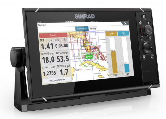 Navigieren, Kontrolle übernehmen und die enorme Funktionsvielfalt optimal ausnutzen – mit NSS evo3. Die SolarMAX™ HD-Anzeigetechnologie bietet ein außergewöhnlich klares Bild und extrem weite Sichtwinkel. Lieferung inklusive 4G Broadband Radar. (Bild 4 von 18)