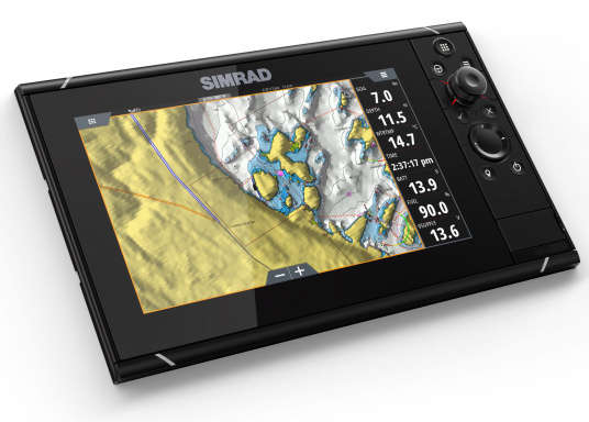 Navigieren, Kontrolle übernehmen und die enorme Funktionsvielfalt optimal ausnutzen – mit NSS evo3. Die SolarMAX™ HD-Anzeigetechnologie bietet ein außergewöhnlich klares Bild und extrem weite Sichtwinkel. Lieferung inklusive 4G Broadband Radar. (Bild 10 von 18)