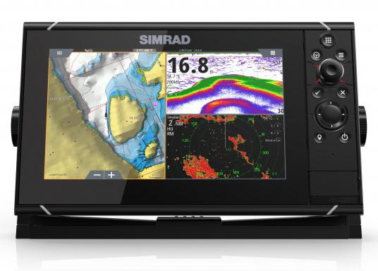 Navigieren, Kontrolle übernehmen und die enorme Funktionsvielfalt optimal ausnutzen – mit NSS evo3. Die SolarMAX™ HD-Anzeigetechnologie bietet ein außergewöhnlich klares Bild und extrem weite Sichtwinkel. Lieferung inklusive 4G Broadband Radar. (Bild 7 von 18)