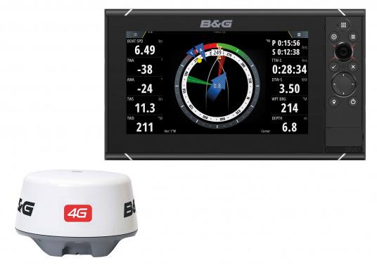 Der Zeus³ 9 ist ein einfach zu bedienendes Kartenplotter-Navigationssystem für Blauwassersegler und Regatta-Segler mit einem 9-Zoll Touchscreen-Display, leistungsstarker Elektronik, und einem großen Funktionsbereich, der speziell für den Segler entwickelt wurde. Lieferung inklusive 4G Breitband Radar.