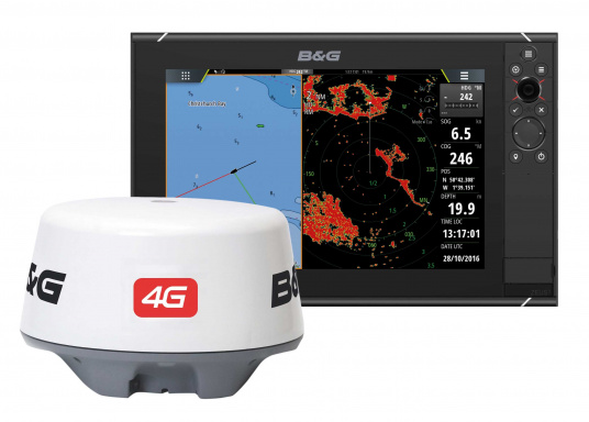 A complete chartplotter with a stunning level of performance, functionality designed specifically for sailors. 4G broadband radar included.