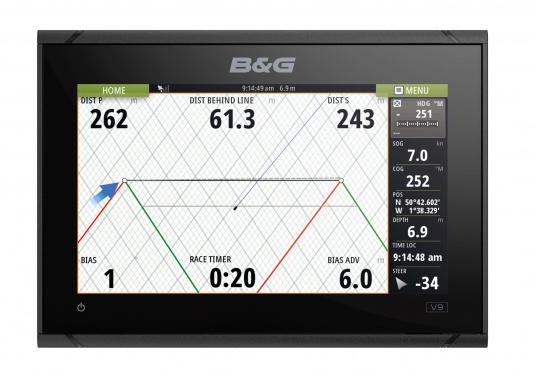 Das B&G VULCAN 9FS Kartenplotter-Navigationsdisplay eignet sich optimal zur Funktionserweiterung auf Sportbooten, Kreuzfahrtschiffen und in kleineren Mittelkonsolen mit Plug-and-Play-Unterstützung für B&G Broadband Radar™ und Halo™ Pulskompressions-Radarsystemen. Lieferung inklusive 3G Breitband Radar. (Bild 3 von 7)