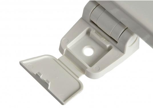 Original Jabsco Ersatzdeckel undSitz für das Bord-WC NEW STYLEKompakt. Des weiteren passt der Ersatzdeckel auf Toiletten mit einem Lochabstand von 14,5 cm.  (Bild 3 von 4)