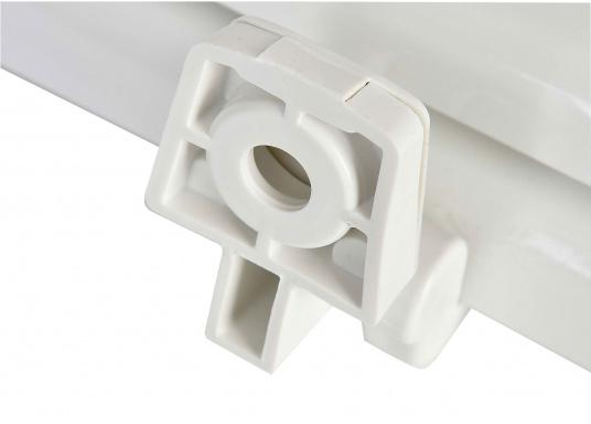 Original Jabsco Ersatzdeckel undSitz für das Bord-WC NEW STYLEKompakt. Des weiteren passt der Ersatzdeckel auf Toiletten mit einem Lochabstand von 14,5 cm.  (Bild 4 von 4)