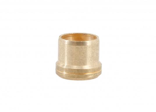 Schneidring für 8 mm Gasschlauch. 10 Stück in einer Packung. Material: Messing.  (Bild 3 von 3)