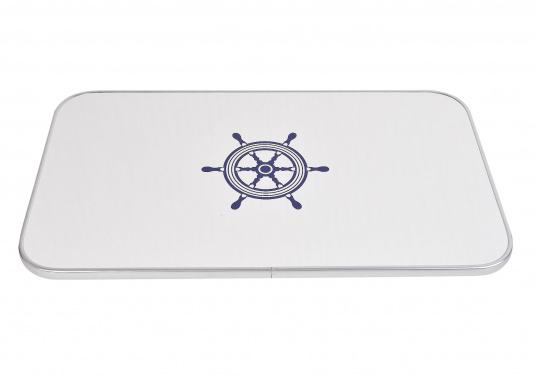 Passende Tischplatte aus Kunststoff für das Untergestell der Serie 2000. Die Tischplatte ist hergestellt aus Melamin.  (Bild 2 von 3)