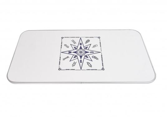 Passende Tischplatte aus Kunststoff für das Untergestell der Serie 2000. Die Tischplatte ist hergestellt aus Melamin.  (Bild 3 von 3)