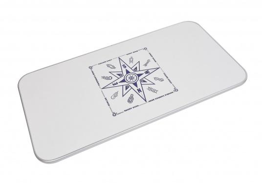 Passende Tischplatte aus Kunststoff für das Untergestell der Serie 2000. Die Tischplatte ist hergestellt aus Melamin.