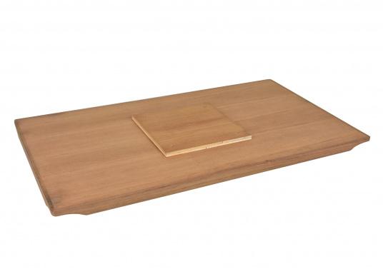 Tischplatte aus Teak passend für FORMA Serie 2000. (Bild 4 von 4)