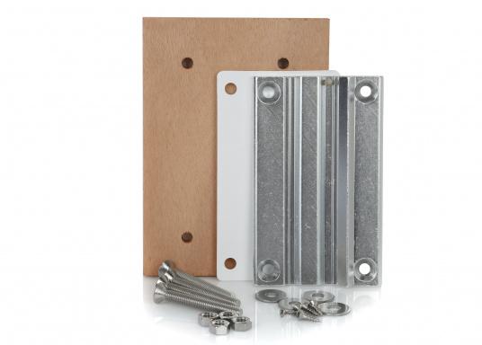 Zusätzliche Montageplatte für Untergestell FORMA Serie 2000.
