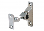 Door Catches, chrome-plated brass