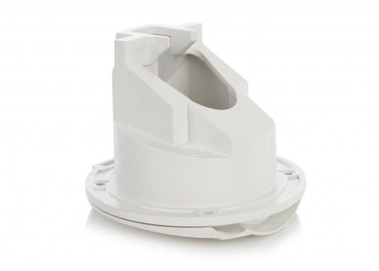 Passende Ersatz-Einbaubox für das Duschset. Hergestellt aus Kunststoff. Gehäusefarbe: weiß.   (Bild 2 von 2)