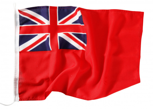 Robuste Nylon-Flaggen mit offiziellem Handelsflaggen-Druck: Großbritanien. Hochwertige Verarbeitung mit 100%-Durchdruck, schnelle und einfache Befestigung.