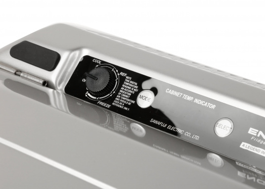 This unique compressor cooler designed for mobile use is particularly powerful and robust.  (Image 9 of 9)