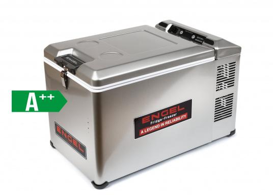 This unique compressor cooler designed for mobile use is particularly powerful and robust.