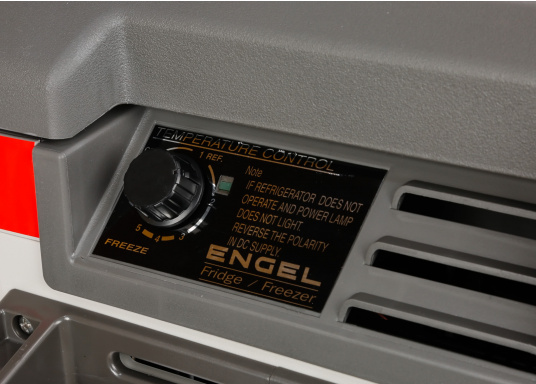 The ENGEL MR040 cooler is equipped with a powerful compressor for all types of applications. (Image 3 of 14)