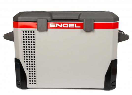 The ENGEL MR040 cooler is equipped with a powerful compressor for all types of applications.