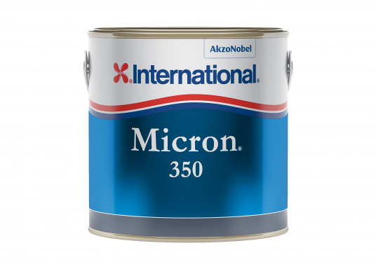 INTERNATIONAL's follow-up product to the tried and tested MICRON EXTRA EU / WA / 77 antifouling. MICRON 350 is a high-performance, self-polishing antifouling, which offers up to two years of effective protection from fouling thanks to its polishing effect. (Imagen 2 of 3)