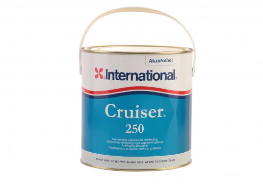 Der Nachfolger des bewährten Antifoulings CRUISER UNO EU von INTERNATIONAL. CRUISER 250 ist ein polierendes Antifouling für die Verwendung in Salz- und Süßwasser für Segel- und Motorboote (bis zu 25 kn).