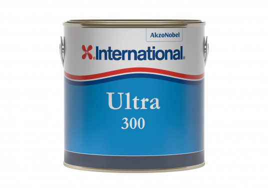 The successor to ULTRA EU hard antifouling from INTERNATIONAL! ULTRA 300 is a highly effective antifouling agent which provides effective protection against organisms such as algae. (Image 2 of 5)